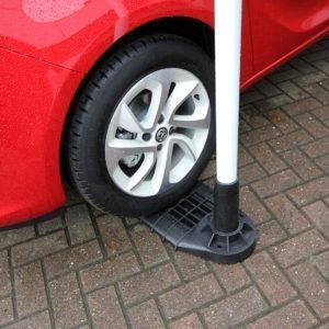 HDPE car foot