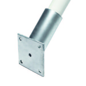 Angled wall bracket